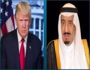 هاتفياً.. الملك يبحث مع ترامب استقرار أسواق النفط العالمية