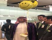 بالصور.. طيران أديل يحتفل بنقل المسافر رقم مليون