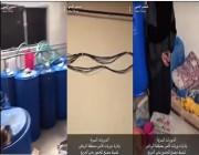 بالفيديو.. مداهمة مصنع خمور يديراه فتاة وشاب بالرياض