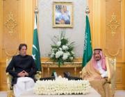 قصر السلام بجدة يحتضن جلسة مباحثات بين الملك ورئيس وزراء باكستان