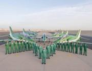 الصقور السعودية تتأهب لإبهار العالم بعروضها الجوية في سماء الصين