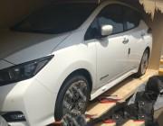 بالصور.. سيارات نيسان الكهربائية تصل إلى المملكة