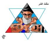 انهيار مثلث الشر في المنطقة