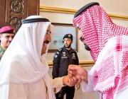 بالصور ولي العهد يصل إلى الكويت في زيارة رسمية  #الكويت_ترحب_بمحمد_بن_سلمان