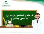 نصائح ضرورية من أجل عام دراسي صحي وناجح (إنفوجرافيك)