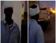 شاهد الفيديو الذي تسبب في القبض على وافد لتحرشه بطفلة في ينبع