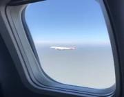 فيديو لهبوط طائرتان في نفس الوقت