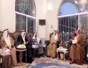 بالفيديو.. ولي العهد لأهالي القصيم: اللى ما فيه خير لأهله ما فيه خير لديرته ووطنه