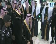 استقبال حافل لخادم الحرمين وولي عهده في الجوف (فيديو)