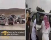 بالفيديو: شاهد.. أمير سعودي ينقذ غريق!