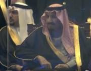 بالفيديو.. قصيدة الشاعر سعود الحافي أمام خادم الحرمين الشريفين