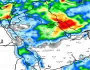 الجهني: توقعات تراكمي الأمطار لـ 7 ايّام قادمة
