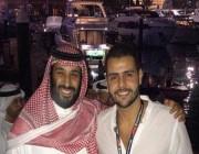 محمد خاشقجي ينشر صورة حديثة له مع ولي العهد