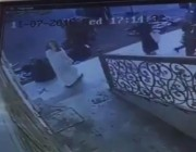 فيديو.. لص يسرق جوالاً من يد امرأة ويلوذ بالفرار
