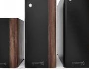 حواسيب مكتبية جديدة مصنوعة من الخشب