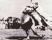 شاهد.. صورة ناردة للملك عبدالله أثناء مشاركته في عرض لتكريم ملك الأردن
