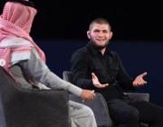 فيديو.. رد المصارع حبيب نورمحمدوف على فتاة سعودية سألته عن رأيه في دخول الفتيات عالم الفنون القتالية