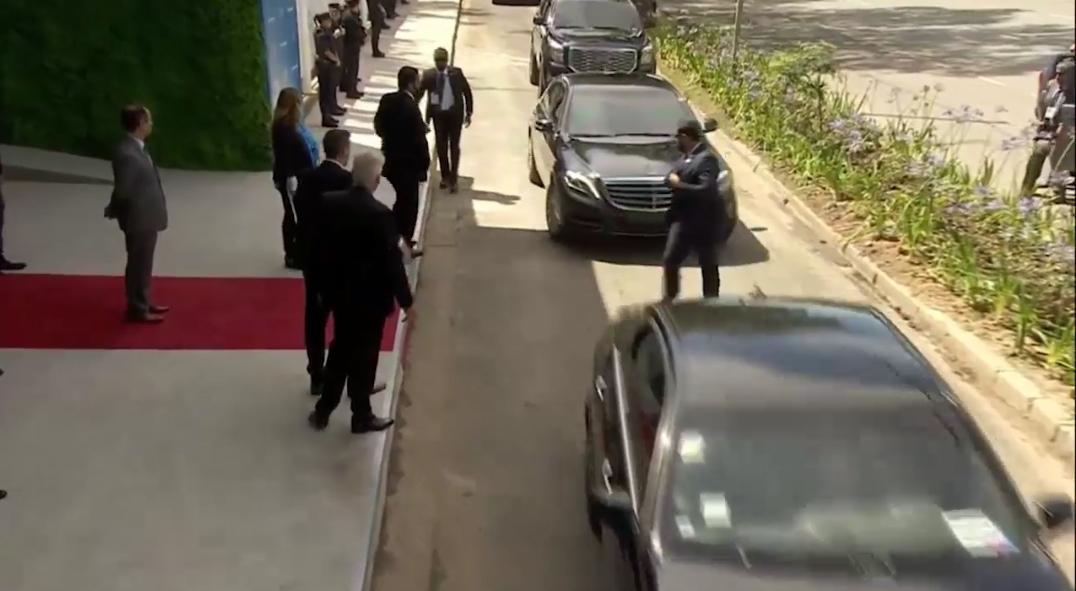 لحظة وصول سمو سيدي الأمير محمد بن سلمان إلى قمة G20