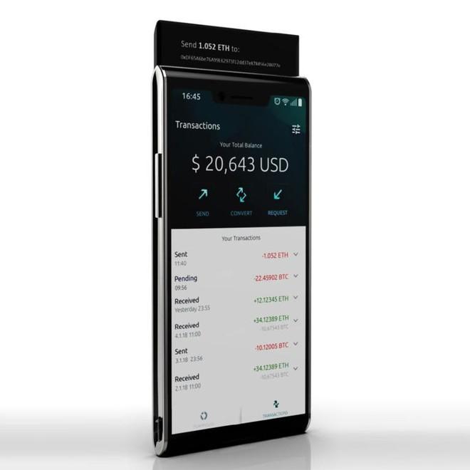 """إطلاق أول هاتف ذكي يعتمد على تقنيات """"بلوك تشين"""""""